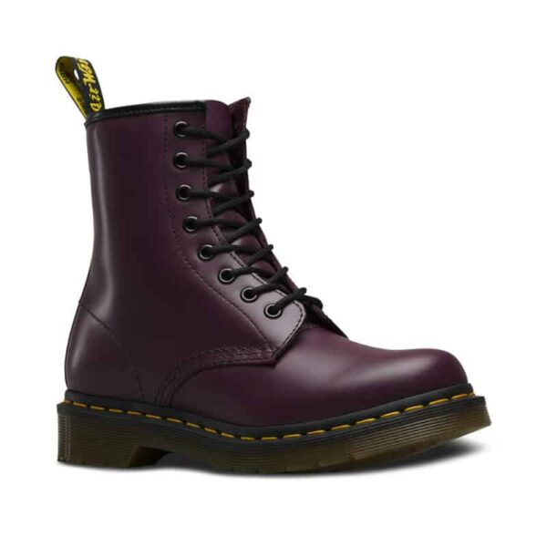 1460/11821500 Purple Smooth 8-Eye Boot