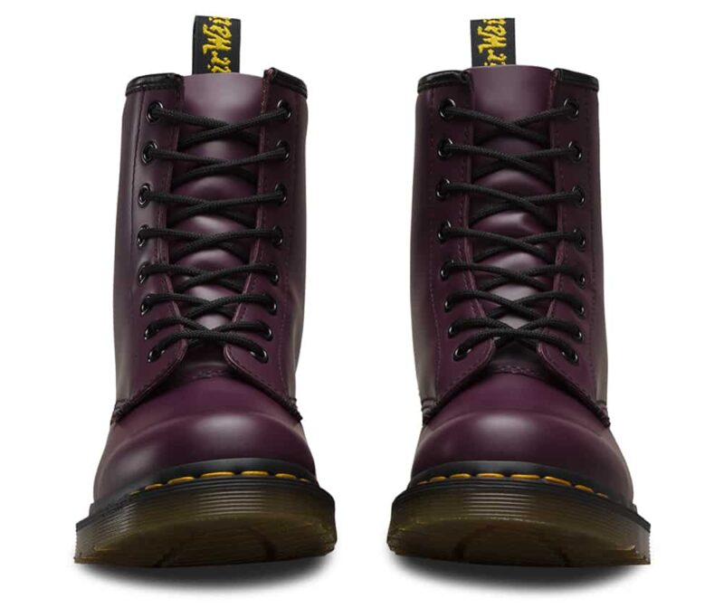 Dr. Martens 1460 Purple Smooth 8-Eye Boot 2