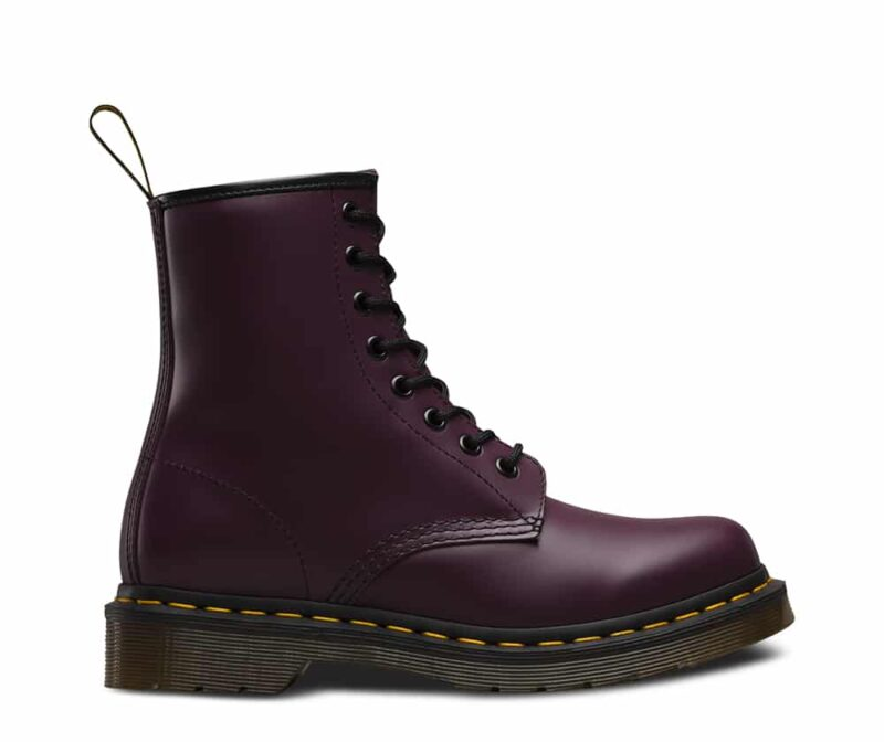 Dr. Martens 1460 Purple Smooth 8-Eye Boot 1