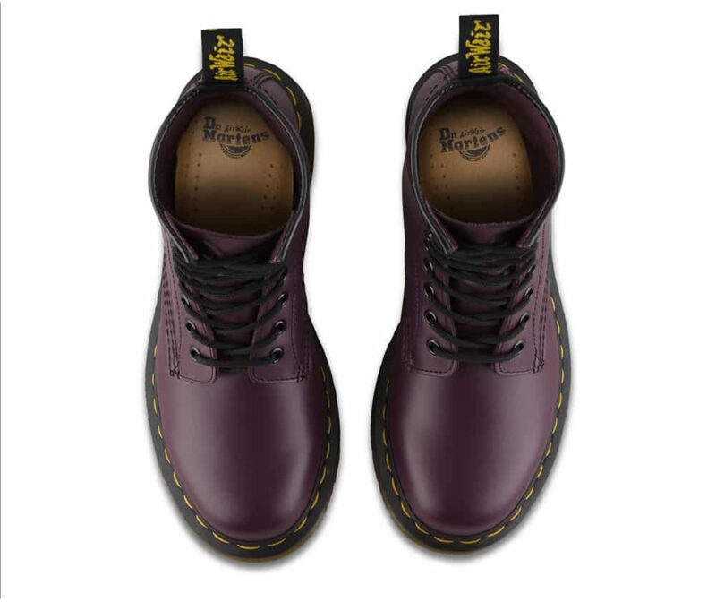 Dr. Martens 1460 Purple Smooth 8-Eye Boot 6