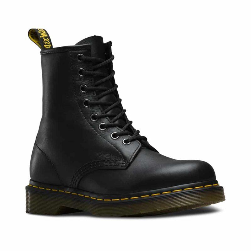 1460/11822002 Black Nappa 8-Eye Boot