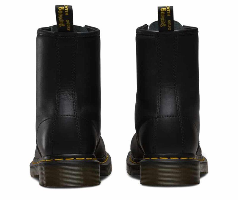1460/11822002 Black Nappa 8-Eye Boot 4
