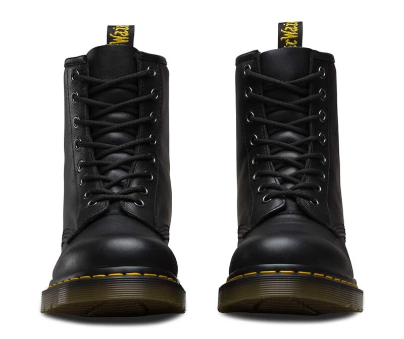 1460/11822002 Black Nappa 8-Eye Boot 2