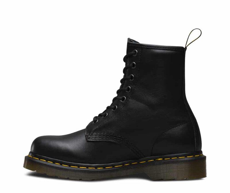 1460/11822002 Black Nappa 8-Eye Boot 3