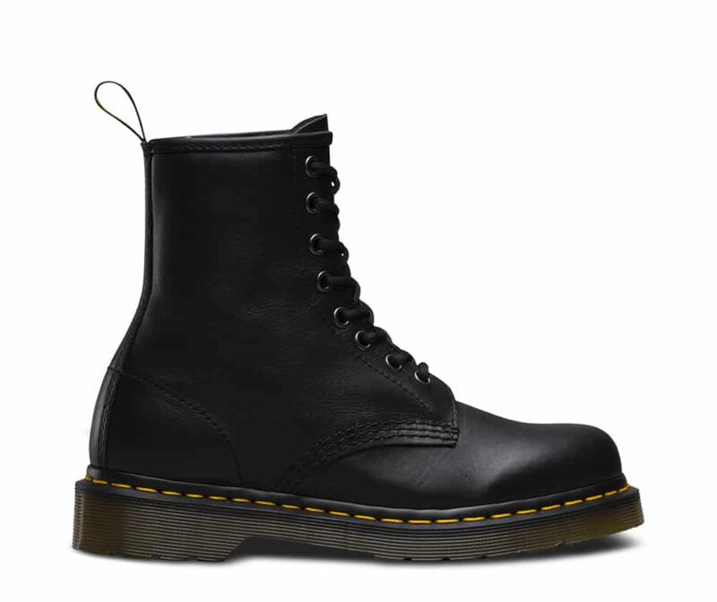 1460/11822002 Black Nappa 8-Eye Boot 1