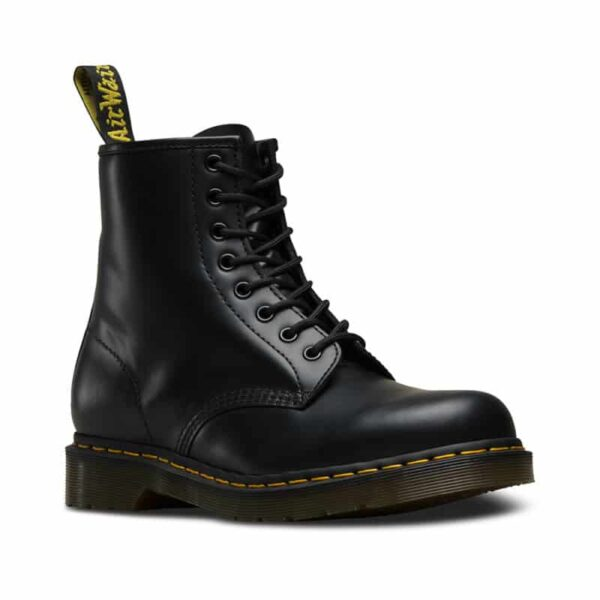 1460/11822006 Black Smooth 8-Eye Boot