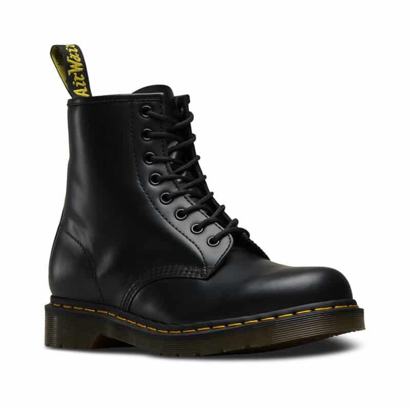 1460/11822006 Black Smooth 8-Eye Boot