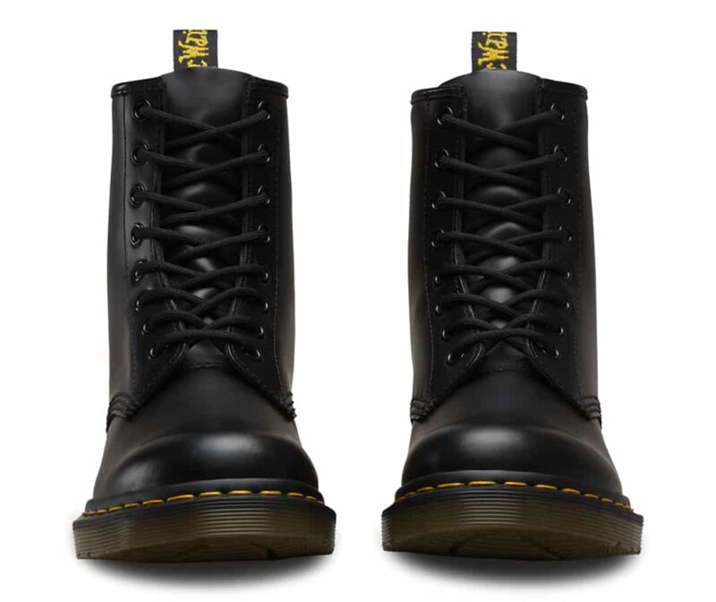 Dr. Martens 1460 Black Smooth 8-Eye Boot 2