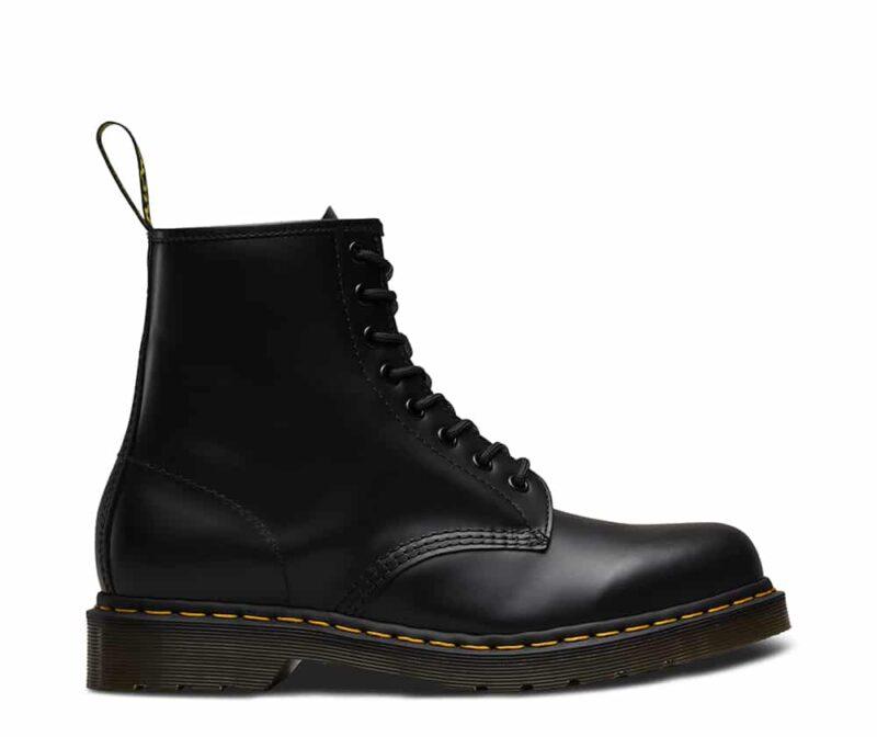 1460/11822006 Black Smooth 8-Eye Boot 1