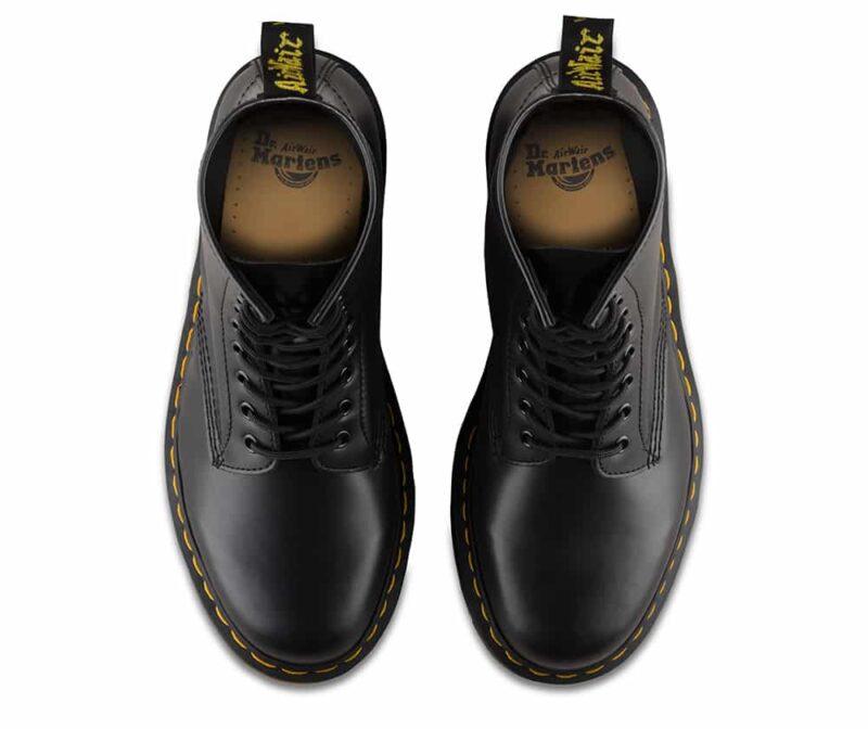 1460/11822006 Black Smooth 8-Eye Boot 6