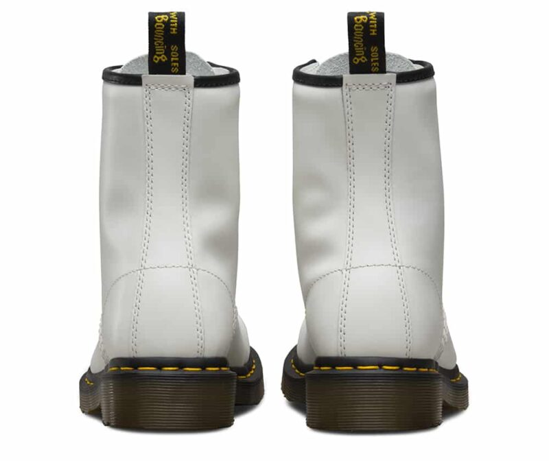 Dr. Martens 1460 White Smooth 8-Eye Boot 4