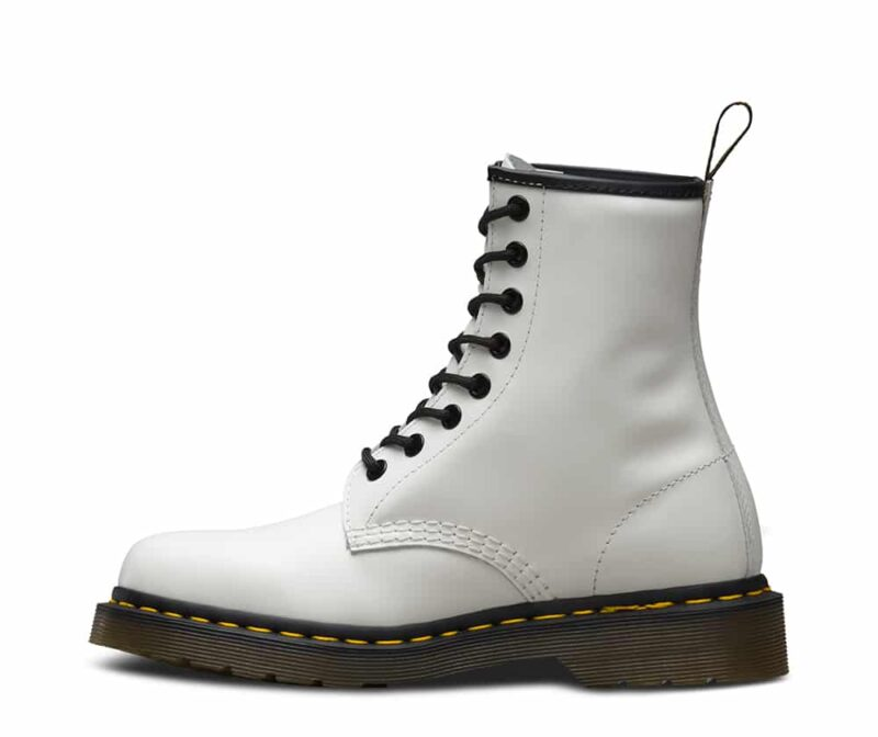 Dr. Martens 1460 White Smooth 8-Eye Boot 3