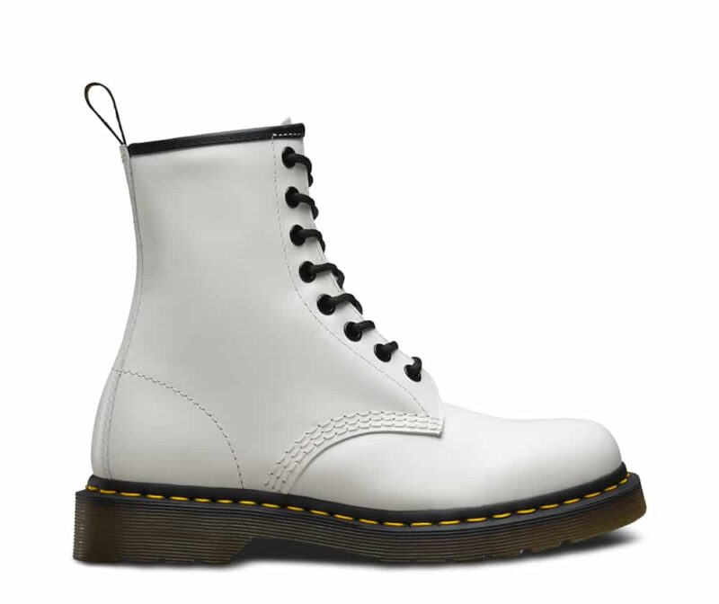 Dr. Martens 1460 White Smooth 8-Eye Boot 1