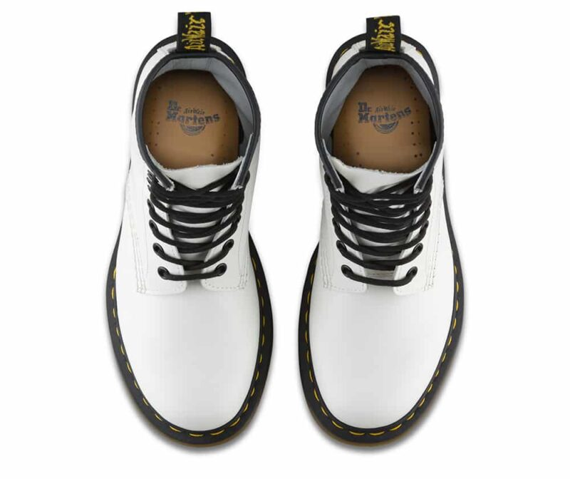 Dr. Martens 1460 White Smooth 8-Eye Boot 6