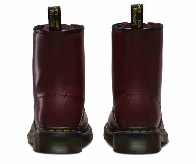Dr. Martens 1460 Cherry Red Smooth 8-Eye Boot 4
