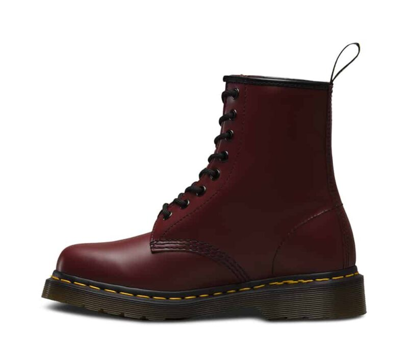 Dr. Martens 1460 Cherry Red Smooth 8-Eye Boot 3