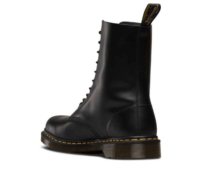 Dr. Martens 1490 Smooth Black 10 Eye Boot 5