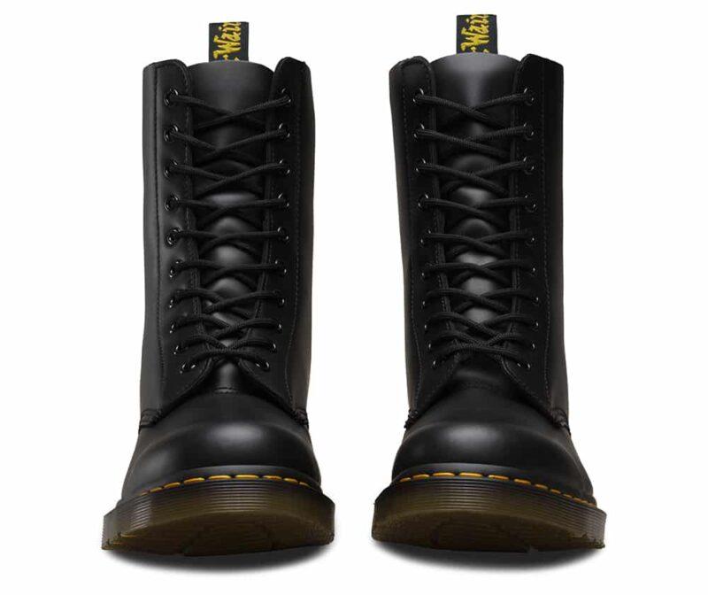 Dr. Martens 1490 Smooth Black 10 Eye Boot 3