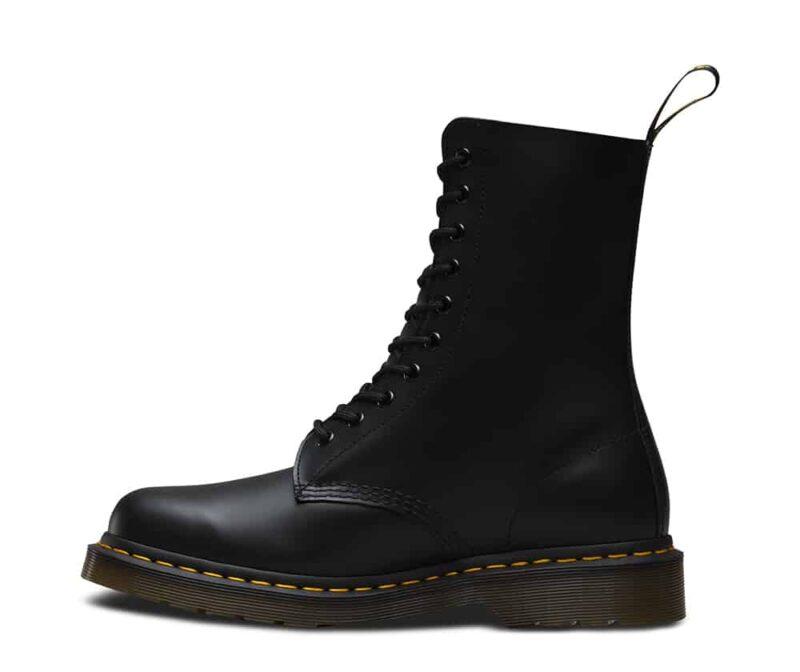Dr. Martens 1490 Smooth Black 10 Eye Boot 4
