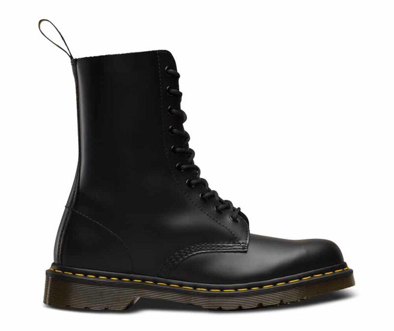 Dr. Martens 1490 Smooth Black 10 Eye Boot 2