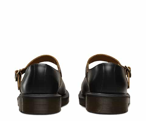 16510001 Indica Black Vintage Smooth Mary Janes 5