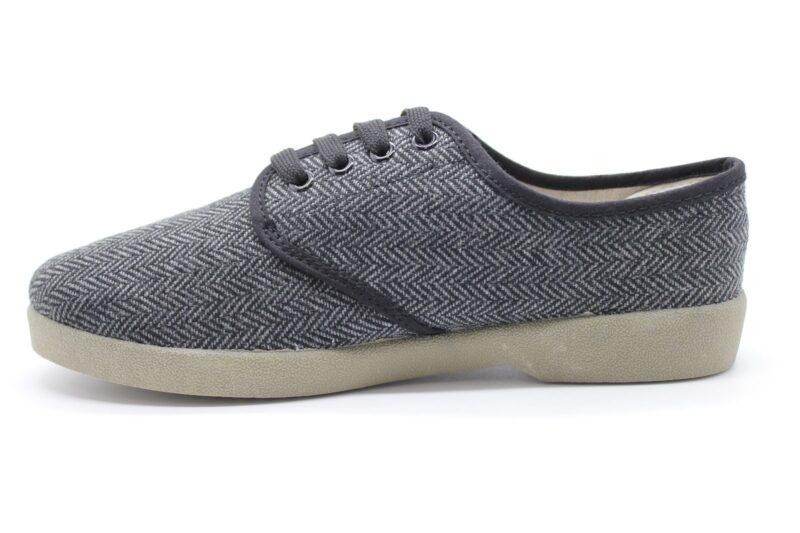 Zig Zag Wino Shoes Herringbone Gray/Gum Sole 7210 1