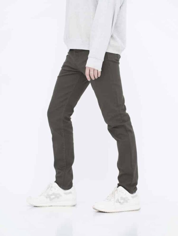 Army Green Skinny Jeans side