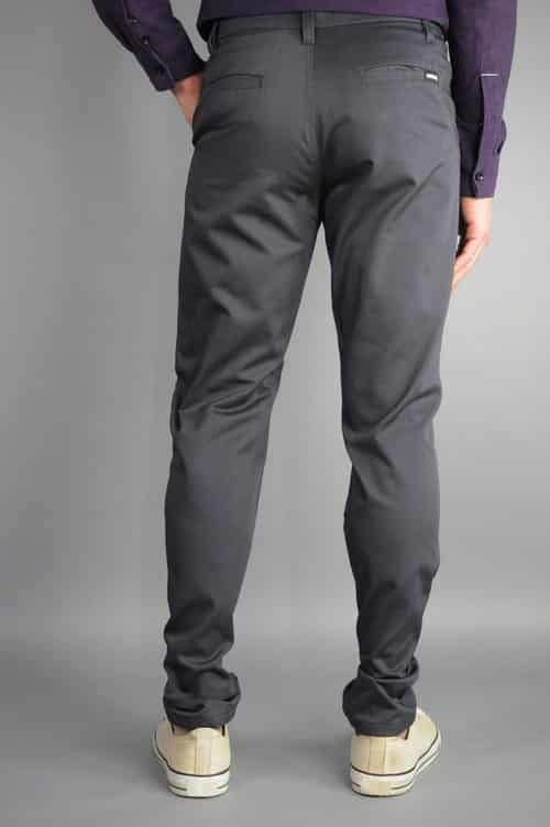Charcoal Chino Pants by Neo Blue 2