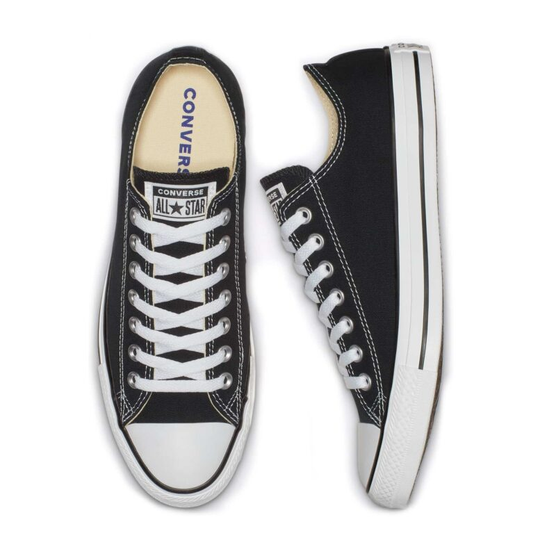 Converse Chuck Taylor All Star Black Low Top Sneaker M9166 2