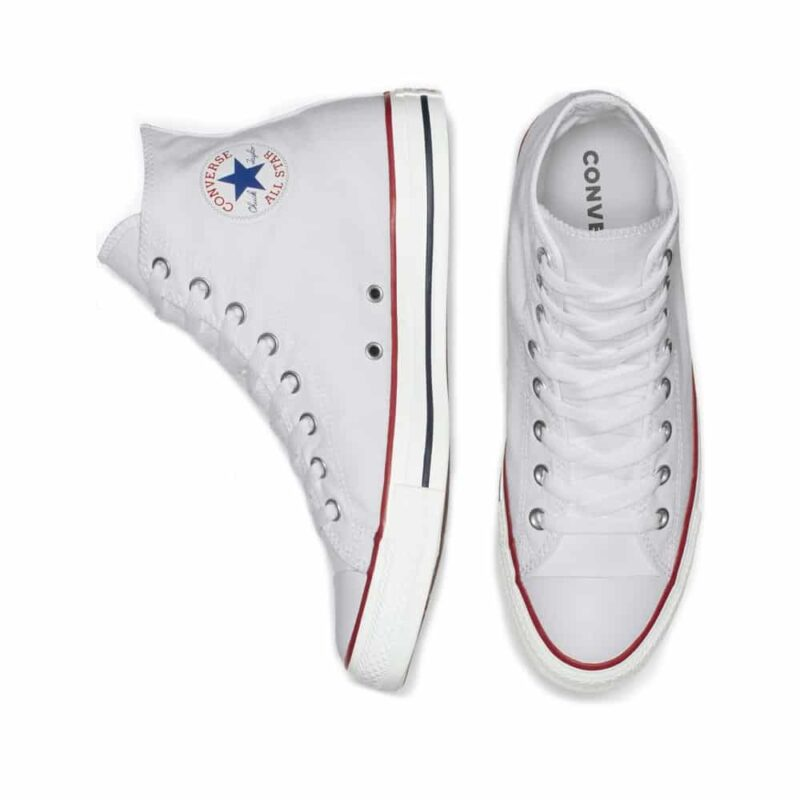 Converse Chuck Taylor All Star White High Top Sneaker M7650 1