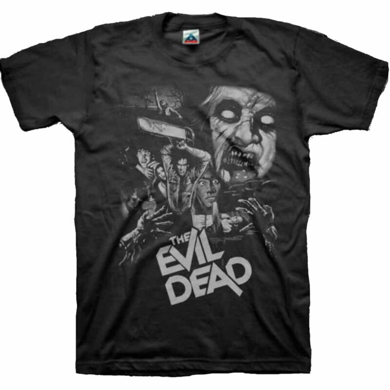 The Evil Dead Collage T-Shirt