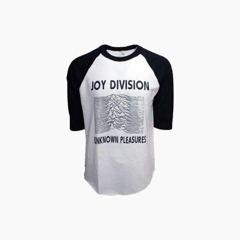 Joy Division Unknown Pleasures Baseball Tee 1