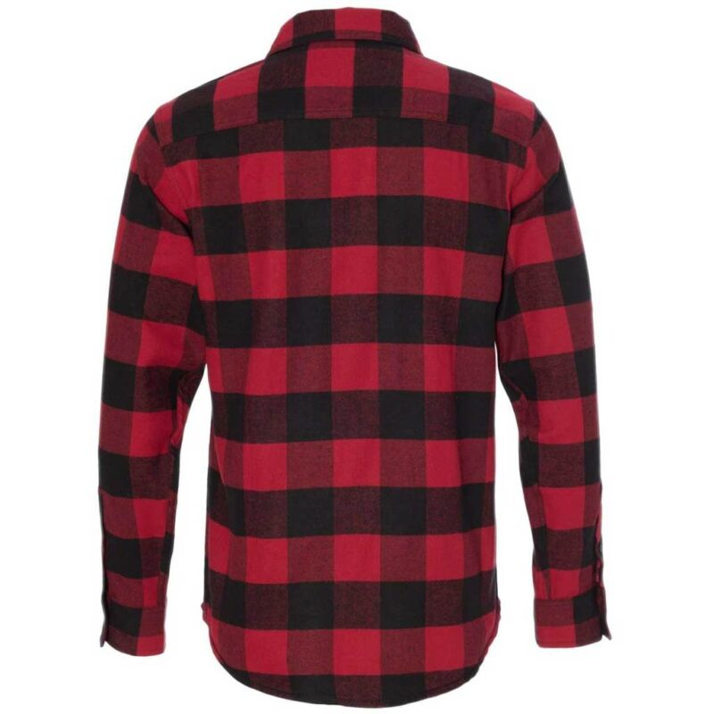 Red and Black Checkered Flannel 2
