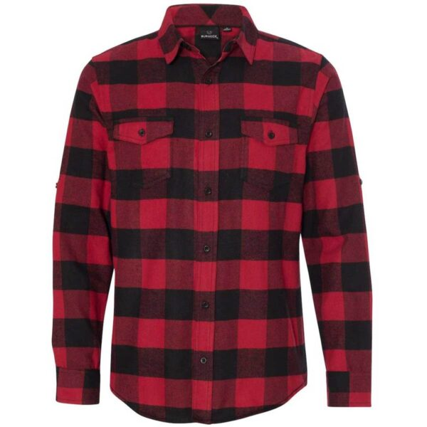 Red and Black Checkered Flannel