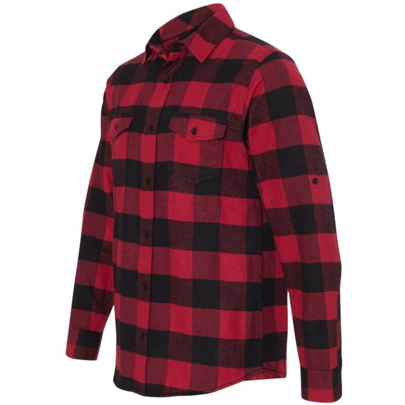 Red and Black Checkered Flannel 1
