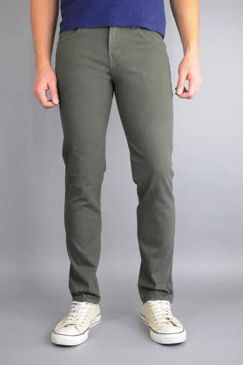 Army Green Skinny Jeans by Neo Blue