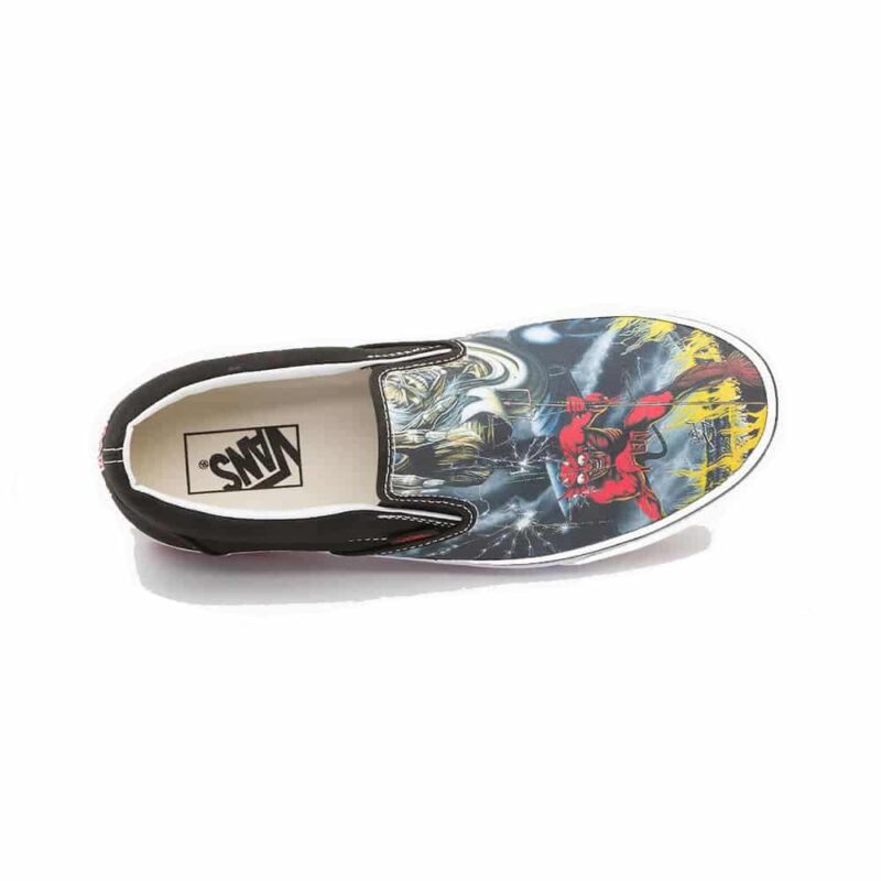 Vans Iron Maiden The Number of The Beast Slip On 2
