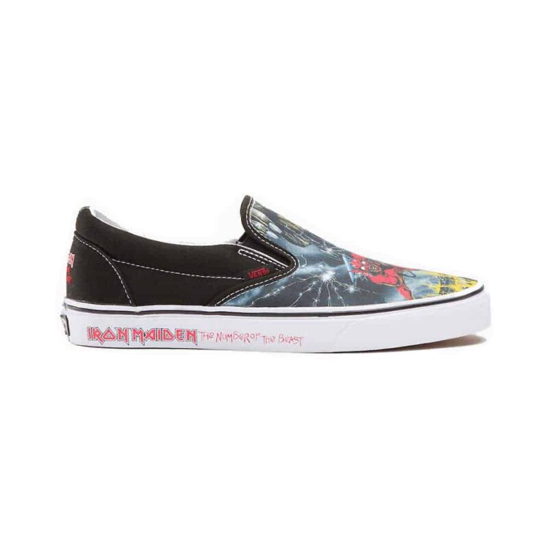 Vans Iron Maiden The Number of The Beast Slip On 1