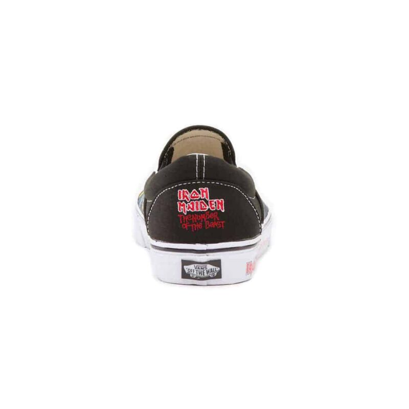 Vans Iron Maiden The Number of The Beast Slip On 3