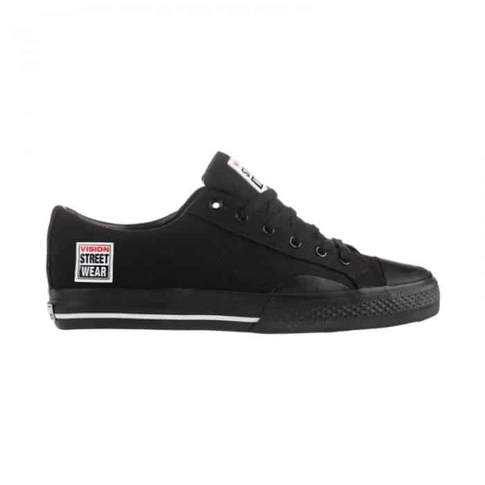 Vision Street Wear Canvas Low Black 1