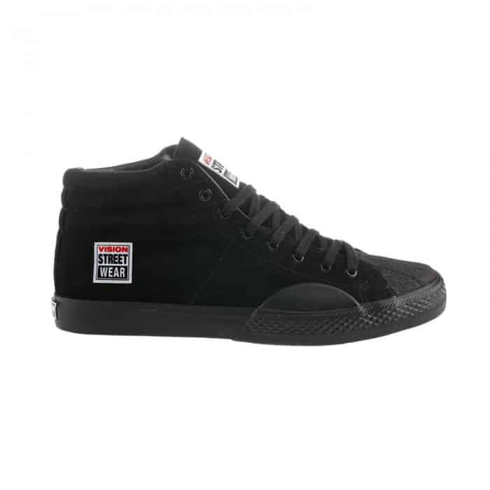 Vision Street Wear Black Suede High Top