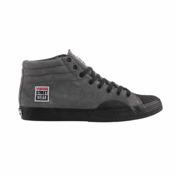 Vision Street Wear Charcoal Suede High Top