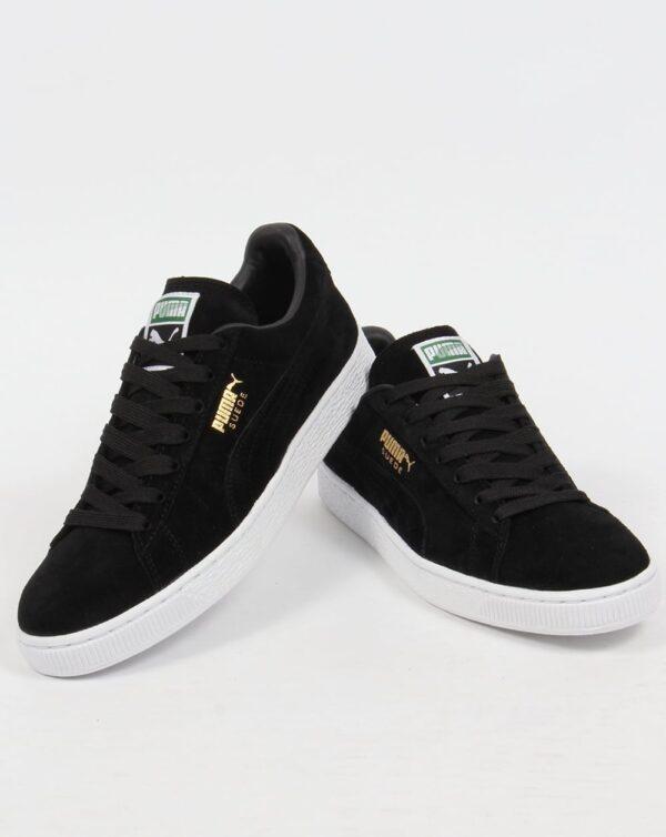 Puma Suede Classic Sneaker Black - Red