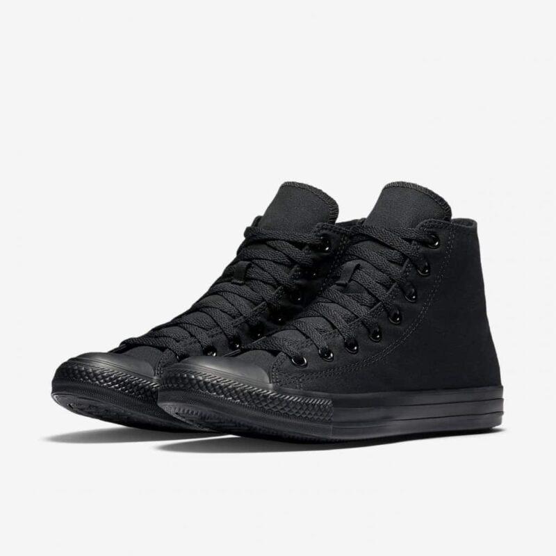Converse Chuck Taylor All Star Black/Black High Top Sneaker M3310 2