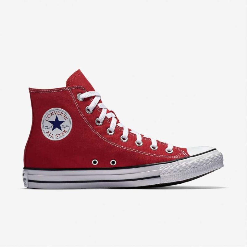 Converse Chuck Taylor All Star Red High Top Sneakers M9621
