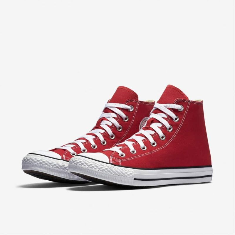 Converse Chuck Taylor All Star Red High Top Sneakers M9621 2