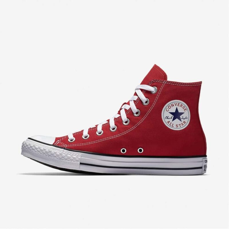 Converse Chuck Taylor All Star Red High Top Sneakers M9621 1