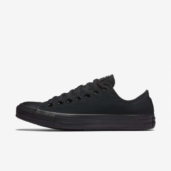 Converse Chuck Taylor All Star Black/Black Low Top Sneaker M5039