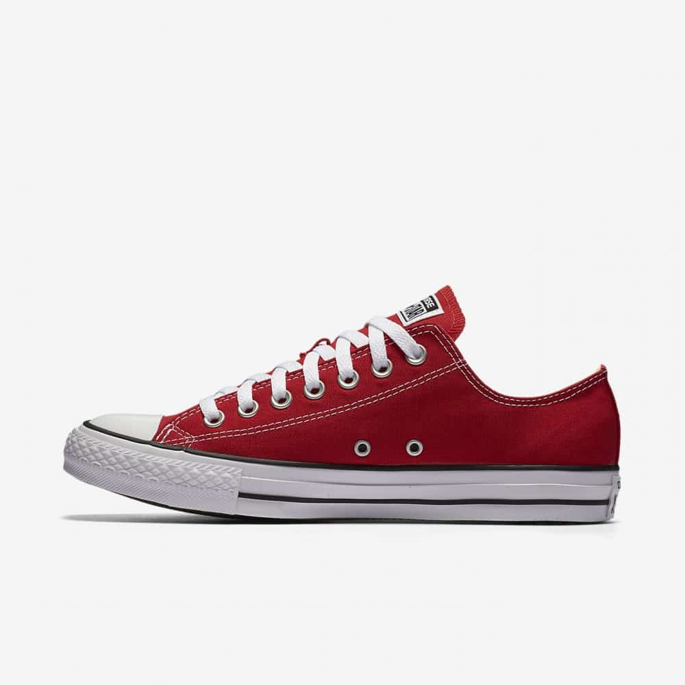converse chuck taylor all star low top red zone shop. Black Bedroom Furniture Sets. Home Design Ideas
