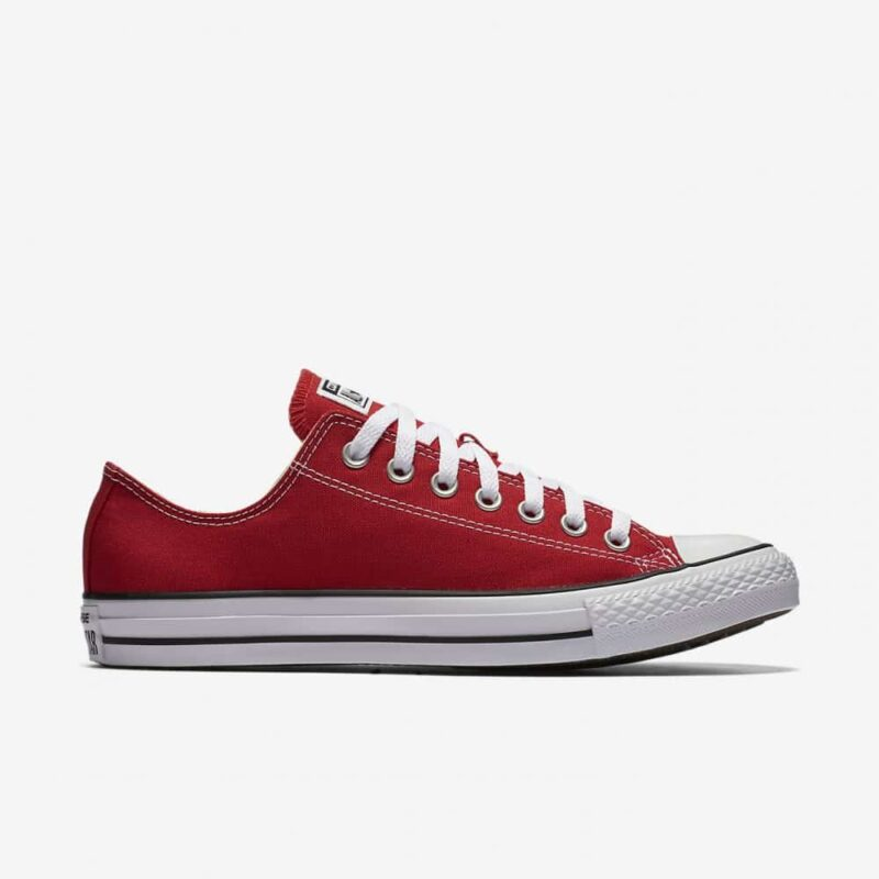 Converse Chuck Taylor All Star Red Low Top Sneaker M9696 3